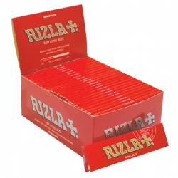 50 Rizla Red King Size Rolling Papers Full Box