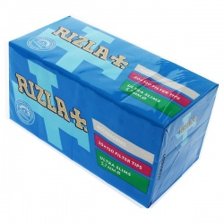 20 Rizla Ultra Slim Filter Tips 120 per Pack Full Box