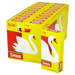 20 Swan Slim Filter Tips 102 per Pack Full Box