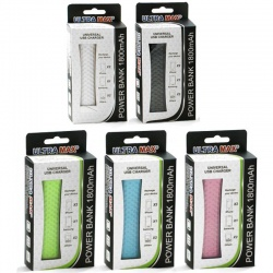 Ultra Max 1800mAh Power Bank Charger Various Colours