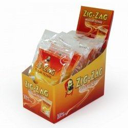 10 Zig-Zag Regular Filter Tips 100 per Box