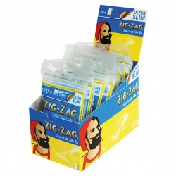 10 Zig-Zag Ultra Slim Filter Tips 150 per Box