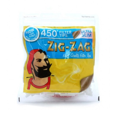 Zig-Zag Ultra Slim 5mm Filter Tips 450 Pack